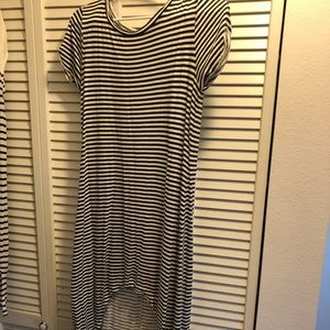 Billabong striped Midi dress